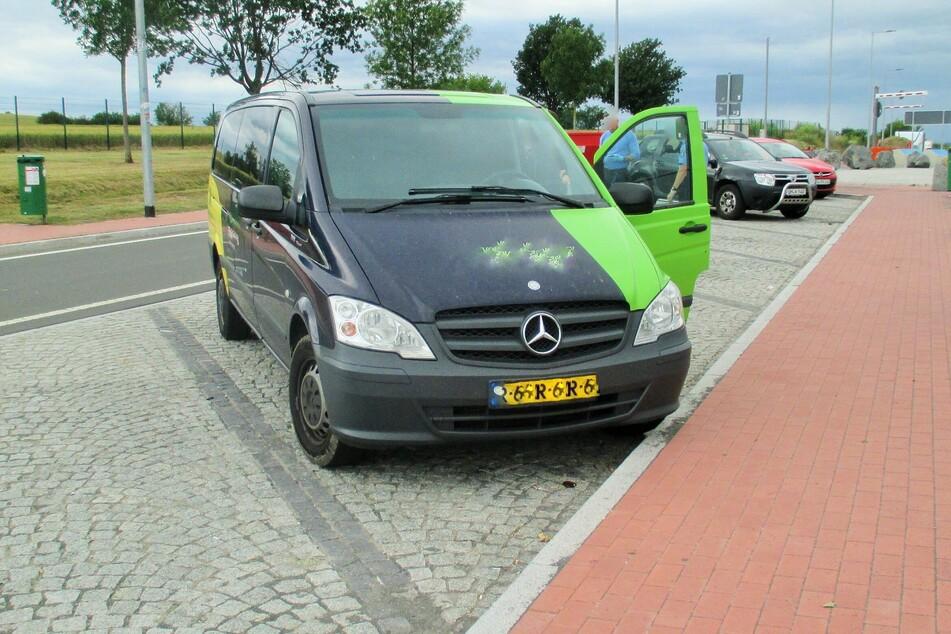 In den Niederlanden geklauter Mercedes taucht in Thüringen wieder auf