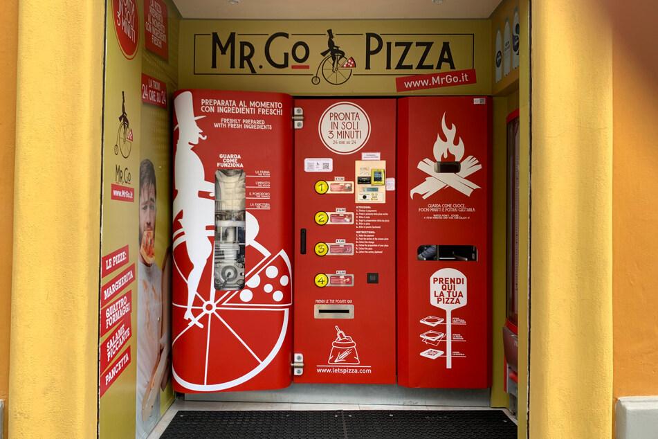 Dieser Automat sorgt für Gesprächsstoff in Italien.