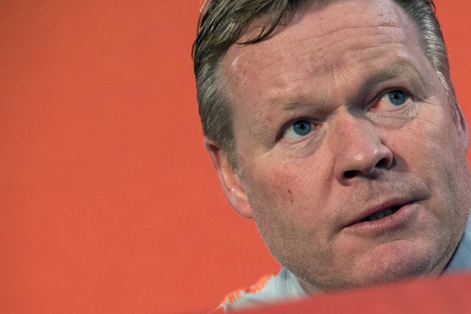 Schock nach dem Fahrradfahren: Niederländischer Nationaltrainer Ronald Koeman am Herz operiert