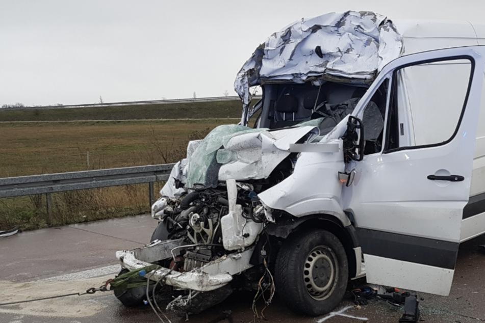 A38 nach tödlichem Unfall Richtung Leipzig voll gesperrt