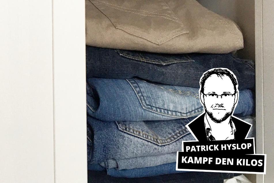 Meilenstein im Kampf gegen die Kilos: Die alten Jeans passen wieder!