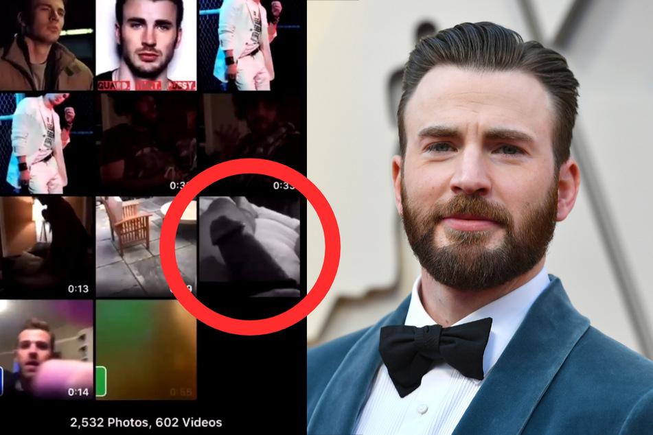 Marvel-Held Chris Evans (39) gewährte seinen Fans einen kurzen Einblick in die Bilder-Galerie seines Handys - und da blitzte doch tatsächlich ein Dickpic auf.