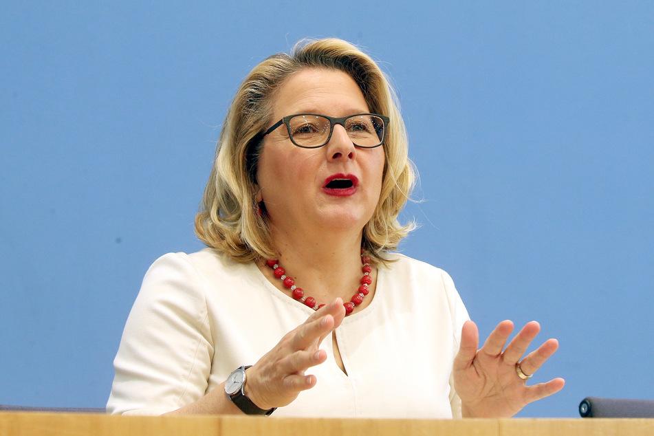 Svenja Schulze (SPD), Bundesumweltministerin.