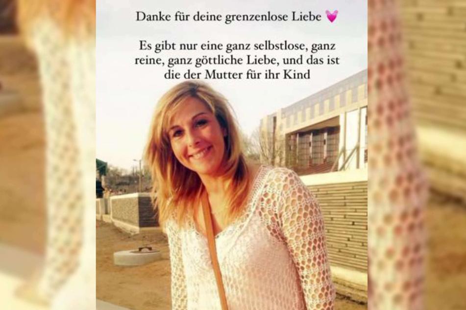"""In ihrer Instagram-Story dankte Sarah Lombardi (28) ihrer Mutter Sonja Strano am Muttertag für ihre """"grenzenlose Liebe""""."""