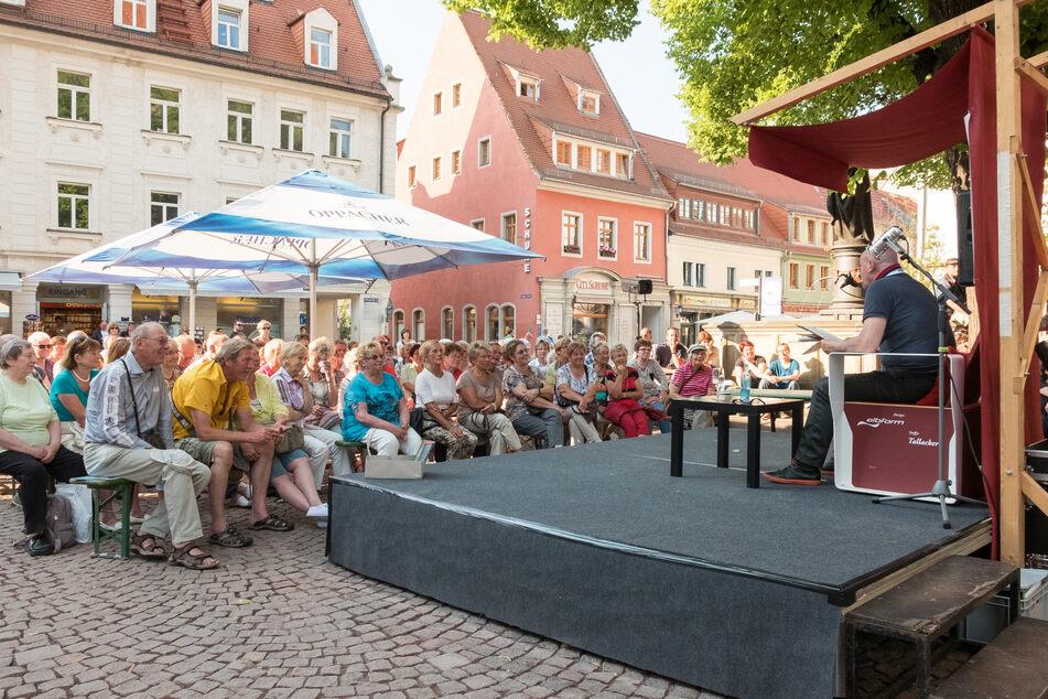 Das Literaturfest Meißen lockt jährlich viele Besucher an.