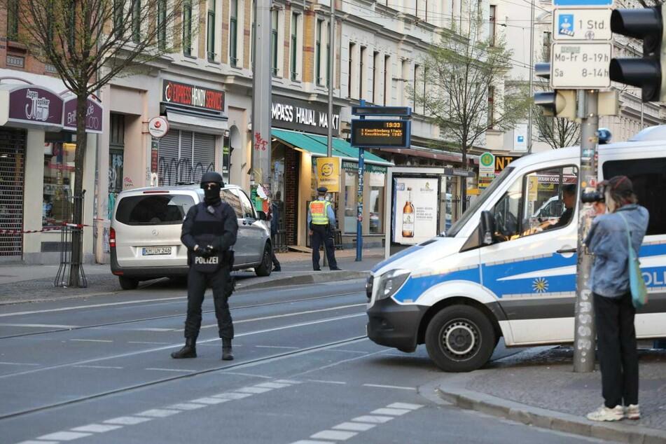 Am Donnerstagnachmittag kam es zu einem größeren Einsatz der Leipziger Polizei auf der Eisenbahnstraße.