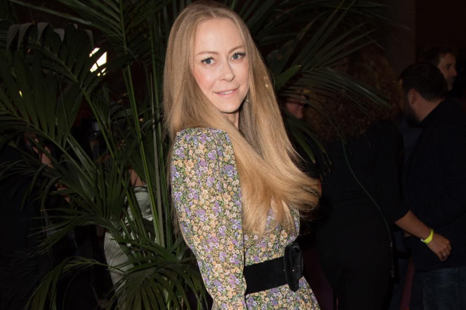 Jenny Elvers im Oktober 2019 bei einem Event in Berlin.