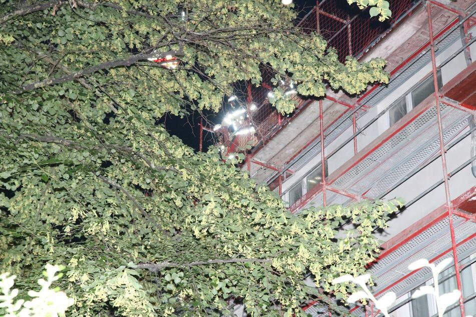 Die Feuerwehr war mit 46 Einsatzkräften vor Ort.