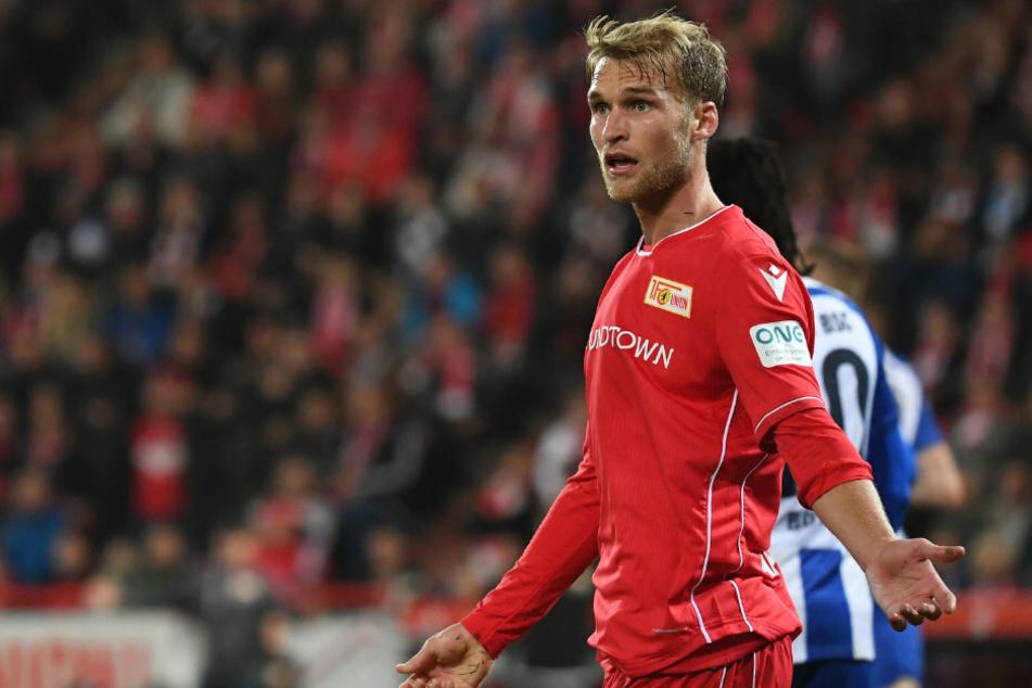 Unions Sebastian Andersson hat Interesse gleich mehrerer Vereine geweckt.