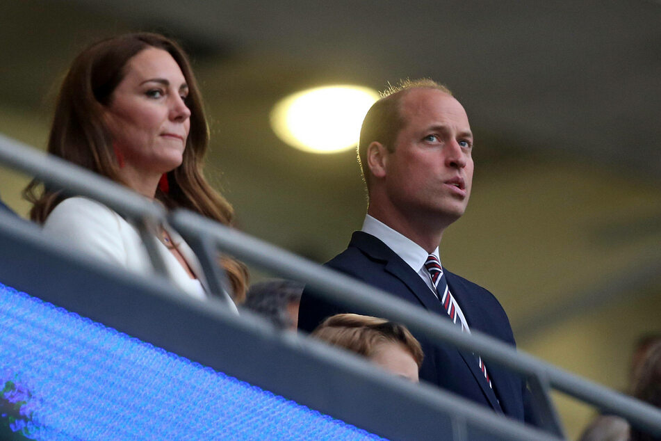Prince William and Duchess Kate were reportedly left off the invite list for Lilibet's christening ceremony.