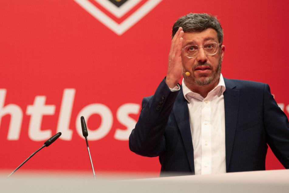 Gibt die Richtung beim VfB vor: Präsident Claus Vogt.