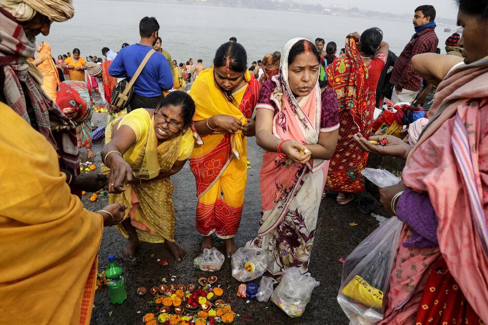 Millionen weitere Menschen werden für das rituelle Fest noch erwartet.