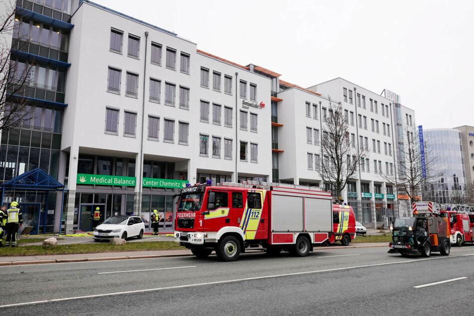 Feuerwehreinsatz am Montagmorgen an der Leipziger Straße.