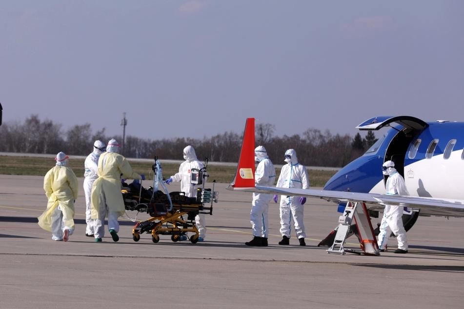 Am Donnerstagnachmittag wurde aus Metz in Frankreich ein mit dem Coronavirus infizierter Franzose nach Dresden gebracht.