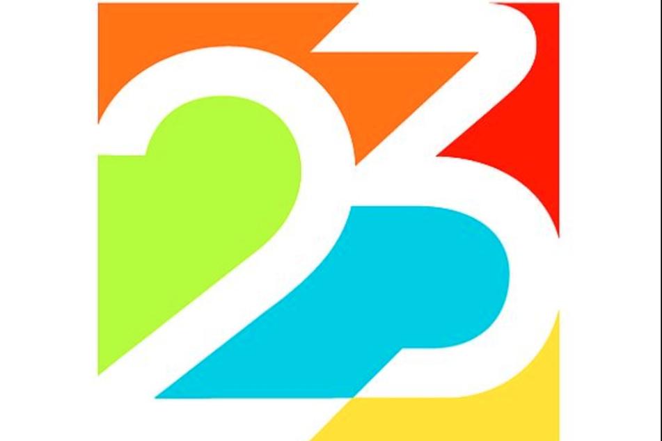 Das offizielle Logo für die Weltmeisterschaften 2023 im Biathlon und Rennrodeln in Oberhof.