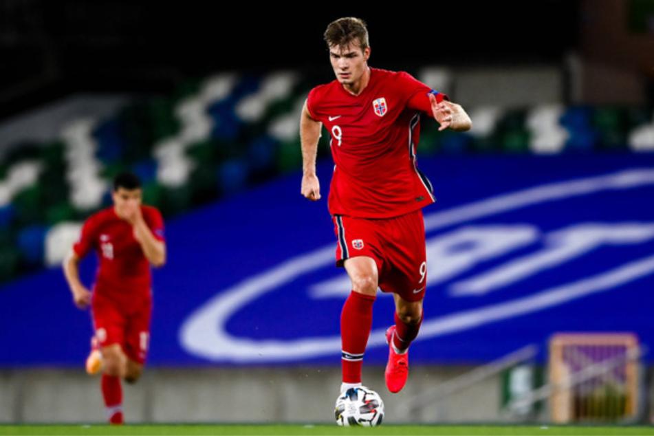 Der Wechsel von Alexander Sörloth (24) zu RB Leipzig befindet sich auf der Ziellinie. (Archivbild)