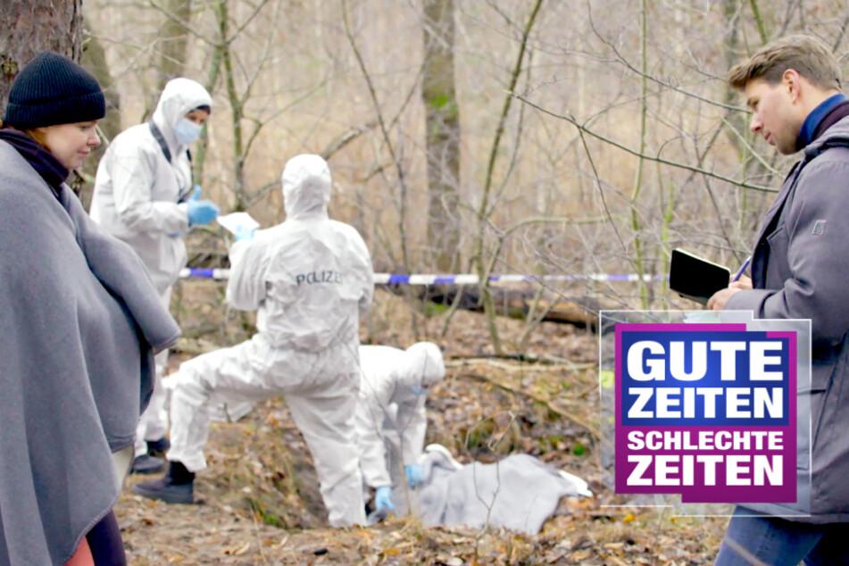 GZSZ: Horror-Fund bei GZSZ! Toni entdeckt tote Frau um Wald
