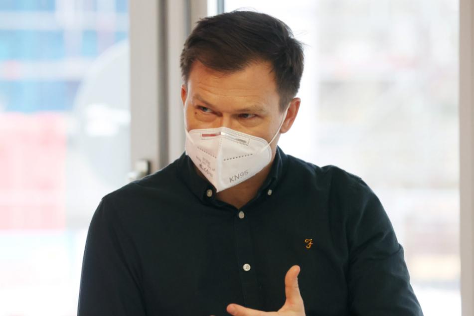 Der Parlamentarische Geschäftsführer der SPD-Fraktion, Carsten Schneider (44).