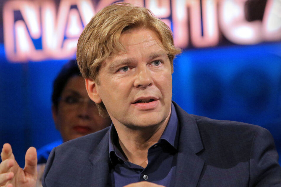 """Moderator Michael Steinbrecher (55) vom SWR-""""Nachtcafé""""."""