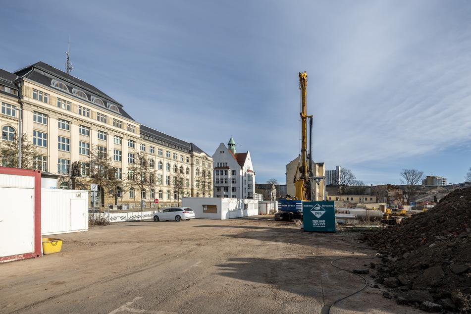 Am Hartmannplatz wird bis 2022 eine neue Oberschule gebaut.
