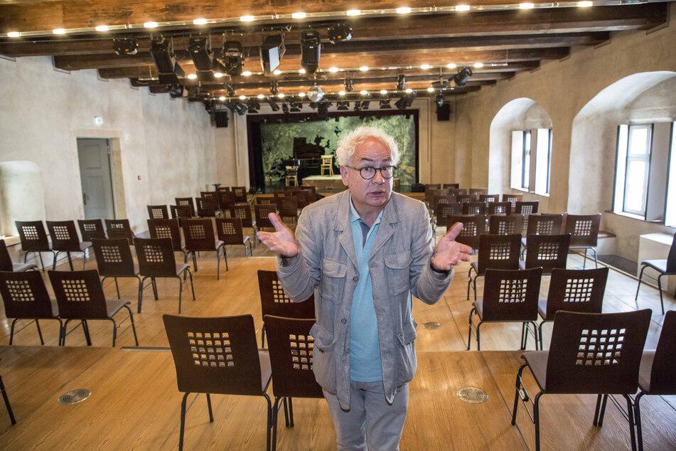 """""""Sehr, sehr bitter"""": Tom Pauls (61) muss sein Theater zum zweiten Mal in diesem Jahr schließen."""