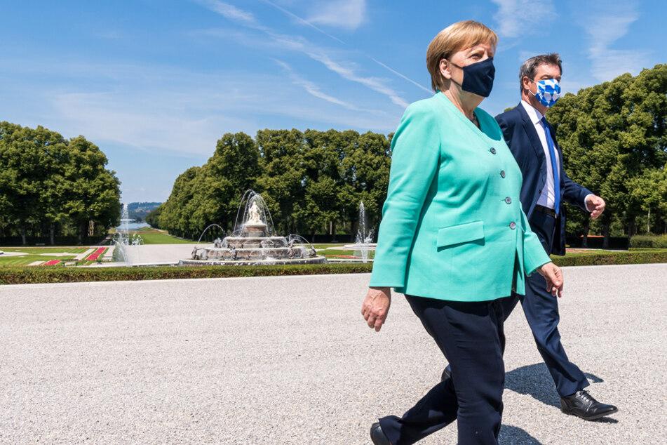 Söder unterstützt Merkels EU-Kurs: Europa ist wertvoll und wichtig