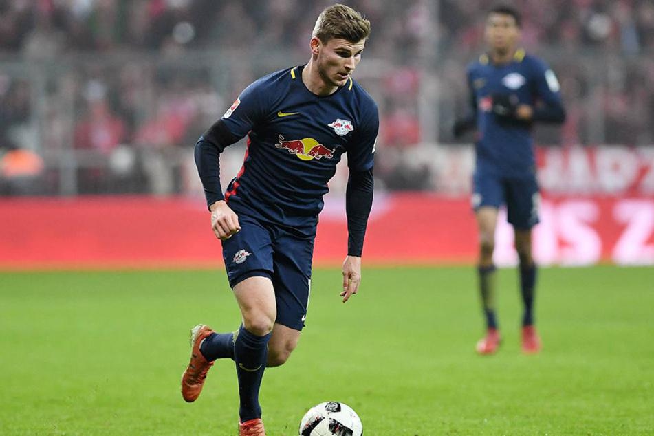 Timo Werner (20) kommt seine Schwalbe gegen den FC Schalke 04 immer noch teuer zu stehen.