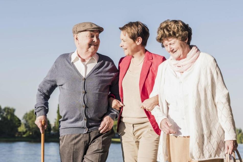 Pflege-Alarm! Immer mehr Dresdner sind 80 und älter