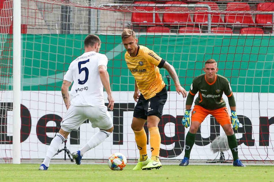 Kevin Broll war im Pokalspiel gegen Dassendorf ein sicherer Rückhalt.