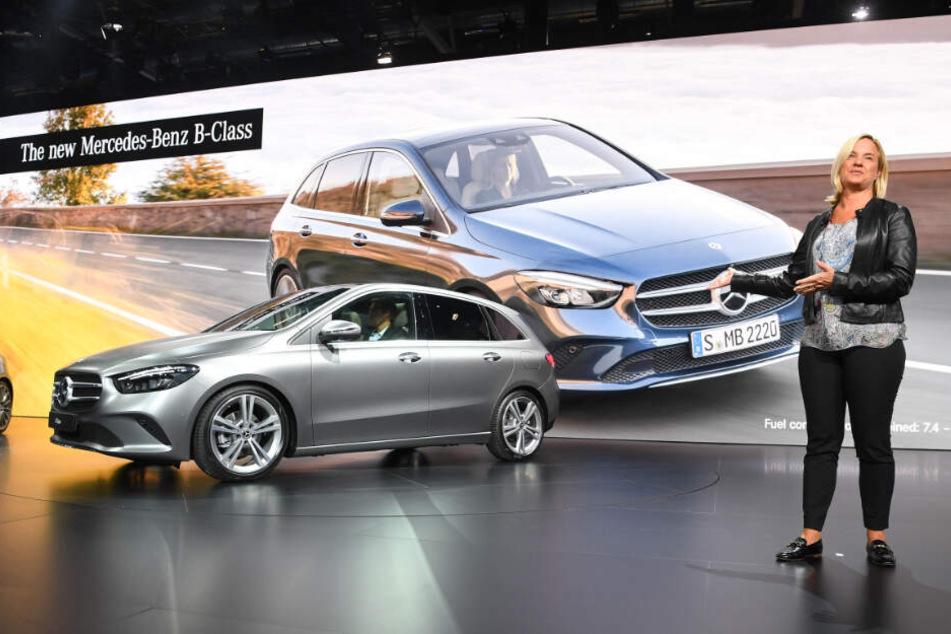 Daimler-Vertriebsvorständin Britta Seeger möchte den Online-Vertrieb des Stuttgarter Autobauers vorantreiben.