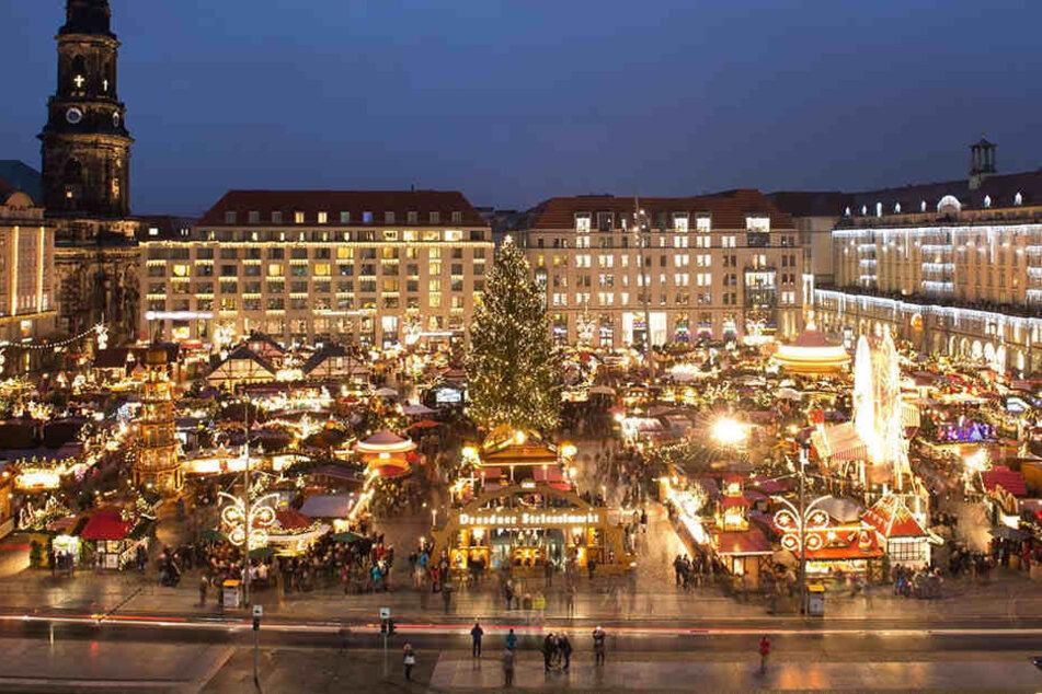 Am 29. November eröffnet endlich der Striezelmarkt.