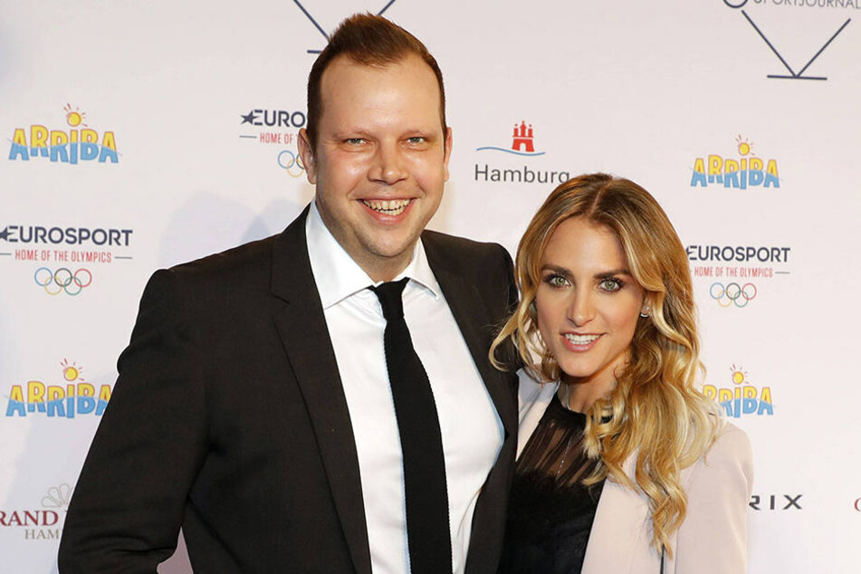 Baby Ist Da Anna Kraft Und Wolff Christoph Fuss überglücklich
