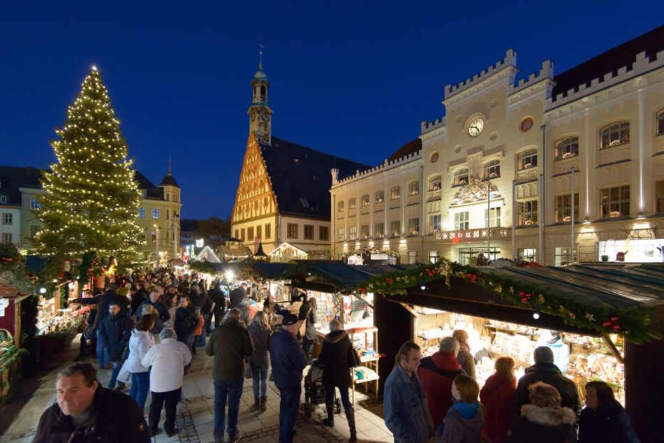 Am Dienstag startet der Zwickauer Weihnachtsmarkt.