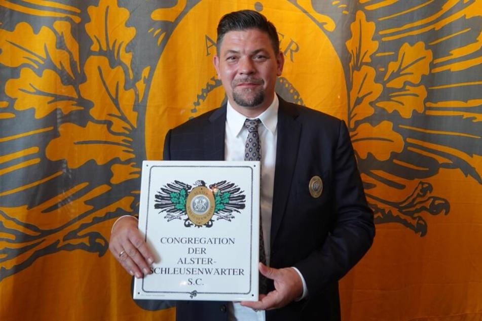 Tim Mälzer wurde im Alsterpavillon ausgezeichnet.