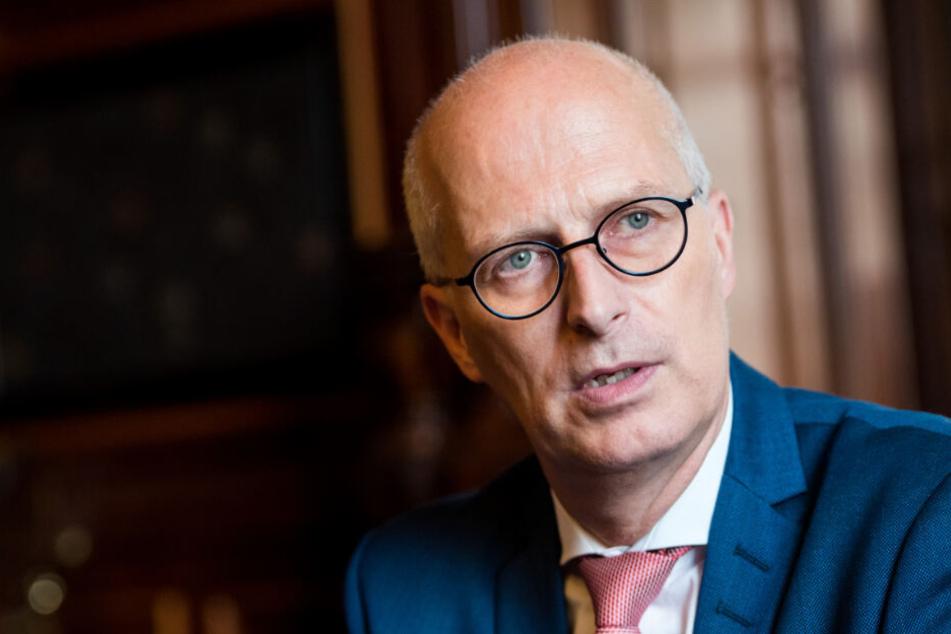 Hamburgs Bürgermeister Peter Tschentscher hat große Pläne.
