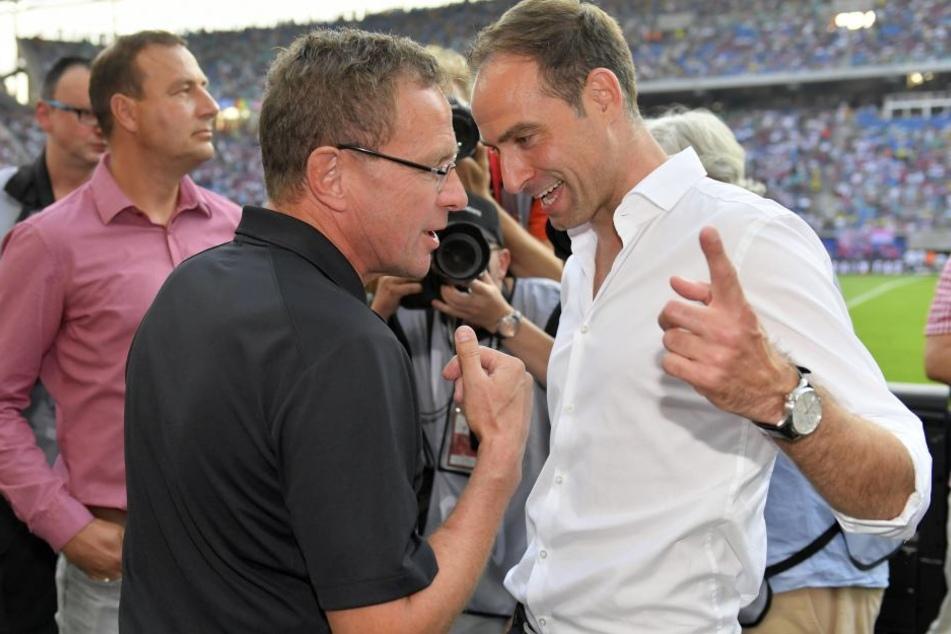"""Der RB-Boss ist froh, Ralf Rangnick in den eigenen Reihen zu wissen: """"Jemanden, der zu Ralf Rangnick passt, muss man erstmal finden. Das ist nicht ganz einfach."""""""