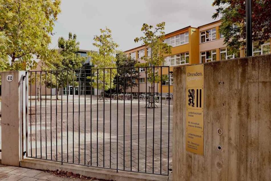 Das Schulgebäude der 101. Oberschule.