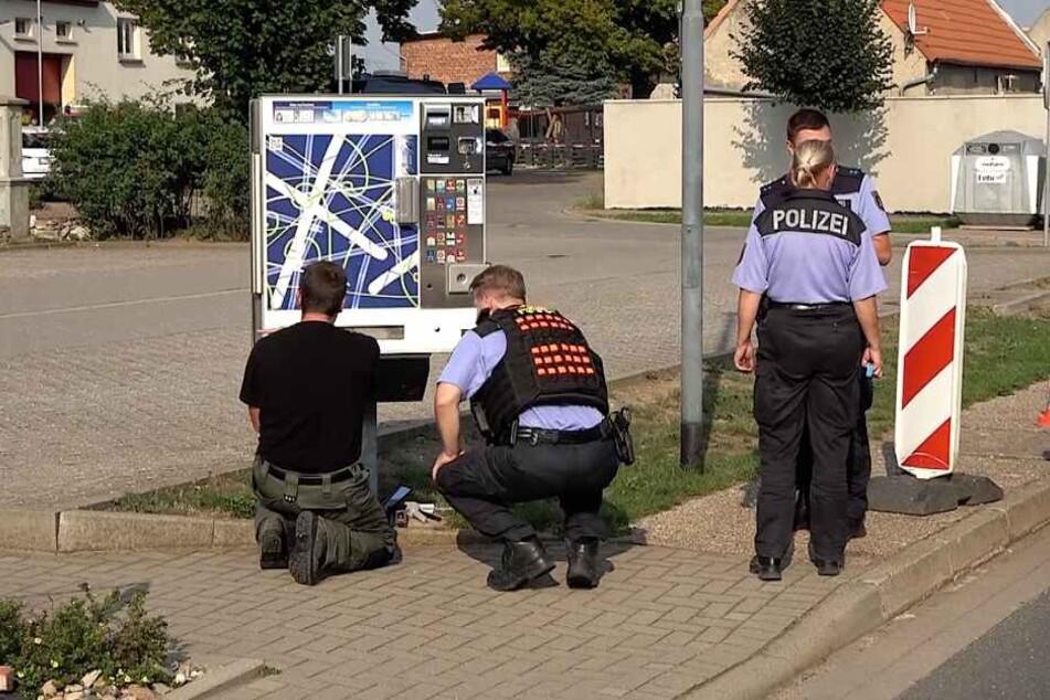 Ein 56-Jähriger hatte die Bomben in einem Zigarettenautomat entdeckt.