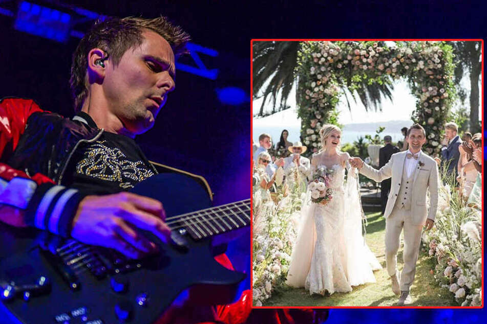 Muse-Frontmann Matthew Bellamy heiratet dieses schöne Model