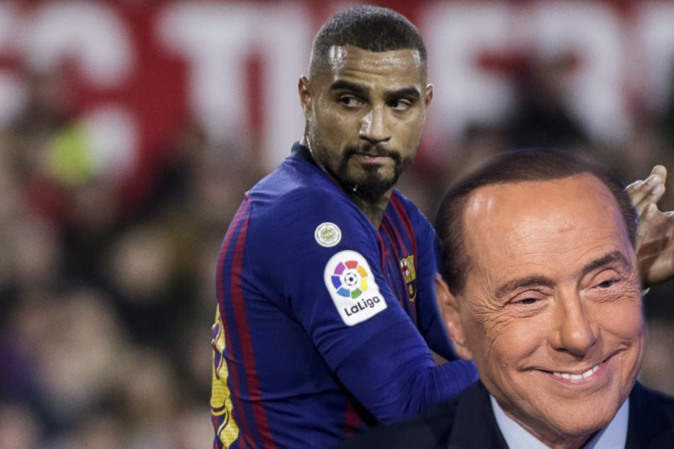 """Boateng jetzt """"Bungateng"""": Kevin-Prince zu Berlusconi-Klub in die zweite italienische Liga!"""