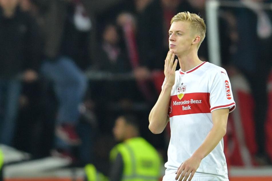 Im Training überkamen ihm immer wieder die Schwindelgefühle: VfB-Verteidiger Timo Baumgartl.