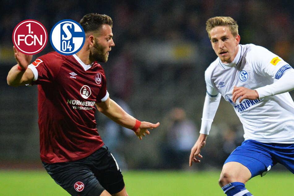 Nübel rettet den Punkt: Nürnberg und Schalke kommen nicht aus dem Keller raus!