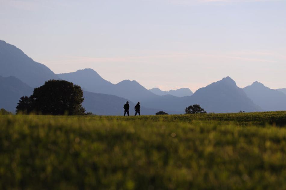Der Wanderer war mit einer Begleiterin in den Allgäuer Alpen unterwegs, als das Unglück passierte. (Symbolbild)