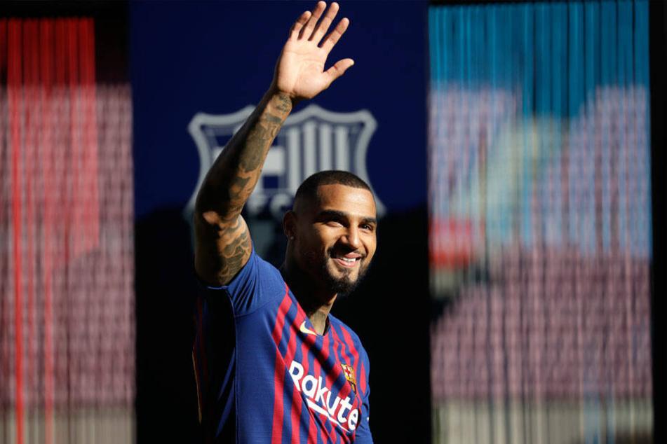 Kevin-Prince Boatengs Tage beim FC Barcelona sind gezählt.