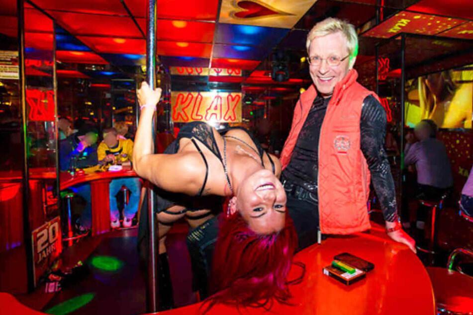 """Dabei wird sie auch Wolle Försters berühmter Nachtbar """"Klax"""" einen Besuch abstatten - aber ohne Tänzerinnen!"""
