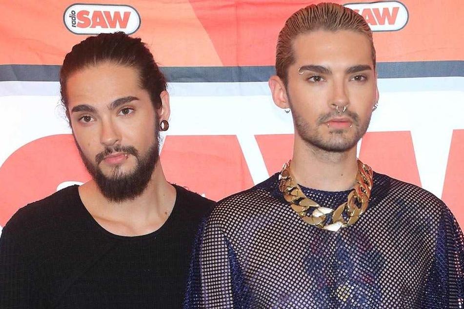 Die Zwillinge Tom (l.) und Bill Kaulitz geben am 1. April ein Konzert in ihrer Heimatstadt Leipzig.