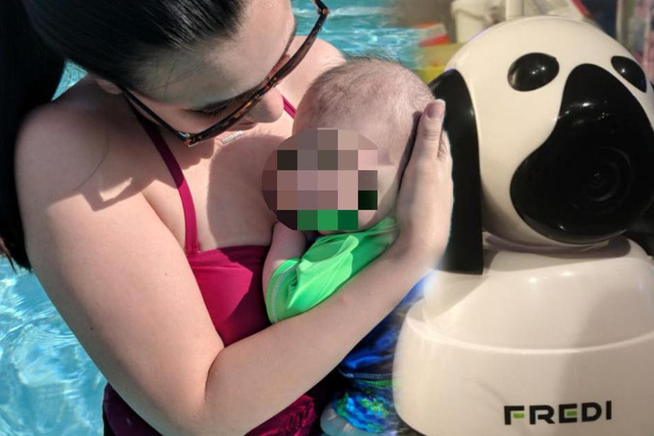 Babymonitor mit Eigenleben: Beobachtete ein Perverser Mutter und ihren Sohn?