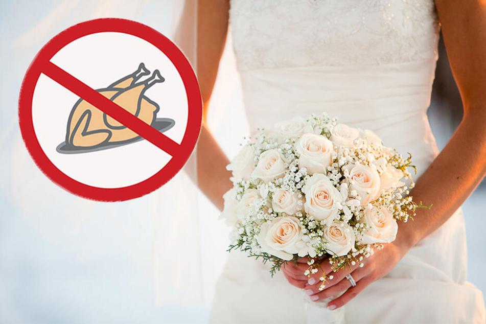 """Vegane Braut lädt ihre Familie aus, weil sie """"fleischfressende Mörder"""" sind"""