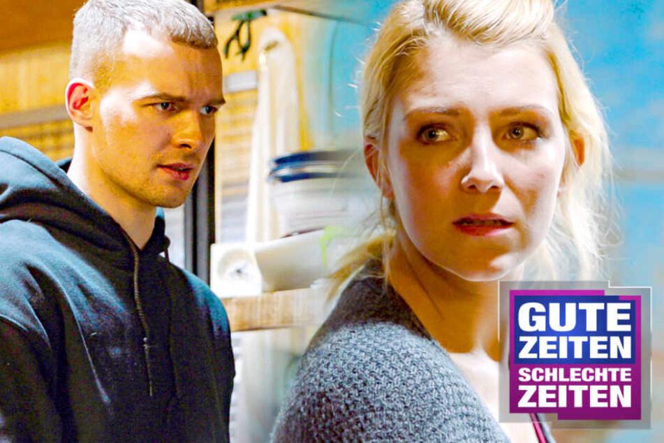 GZSZ: Gefühlschaos bei GZSZ: Werden Chris und Lilly ein Paar?