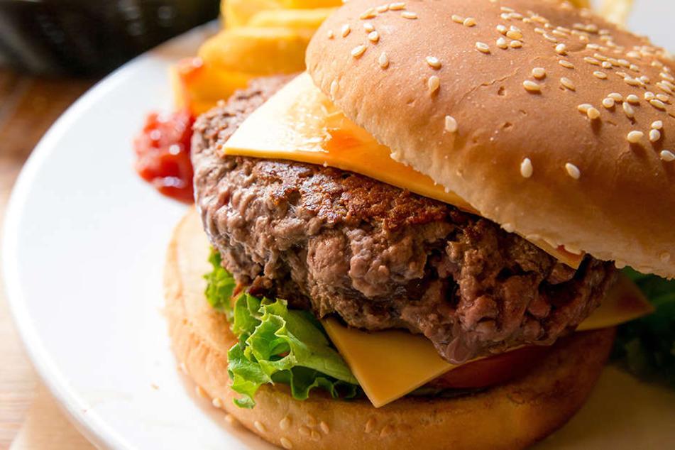 Curtis Mays hatte im Restaurant einen Burger mit diversen Extra-Zutaten bestellt.